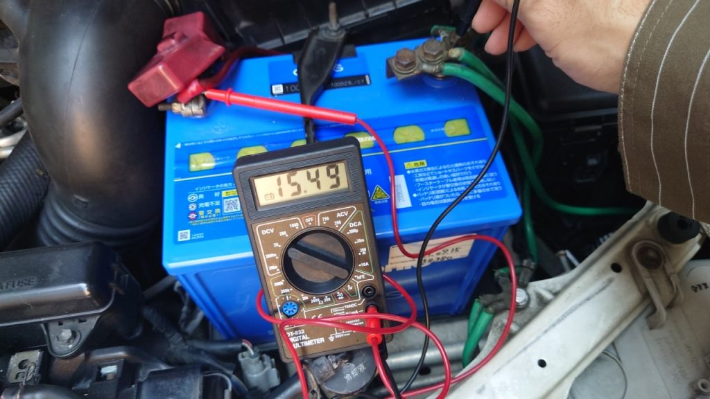【自分の】電池交換をケチ(サボ)ると、デジタルテスターの数値がウソをつく【せい】